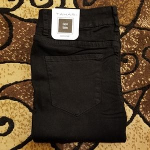 NWT Black Jeans Classic Skinny Rayon jeggings